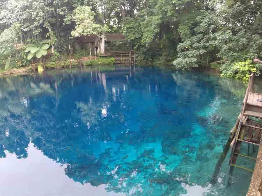 Jackies Blue Hole, Turtle Bay Lodge, Santo, Vanuatu