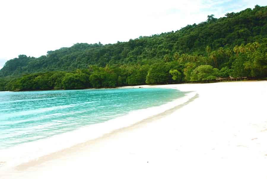 champagne beach , East Coast Santo, Vanuatu