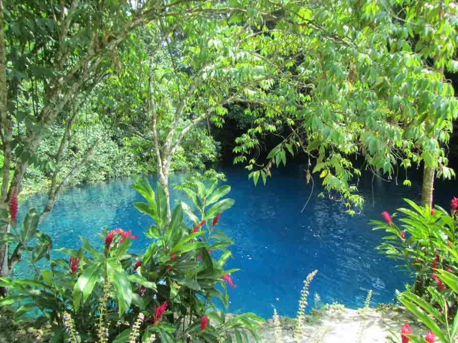 Matevulu Blue Hole, Santo, Vanuatu