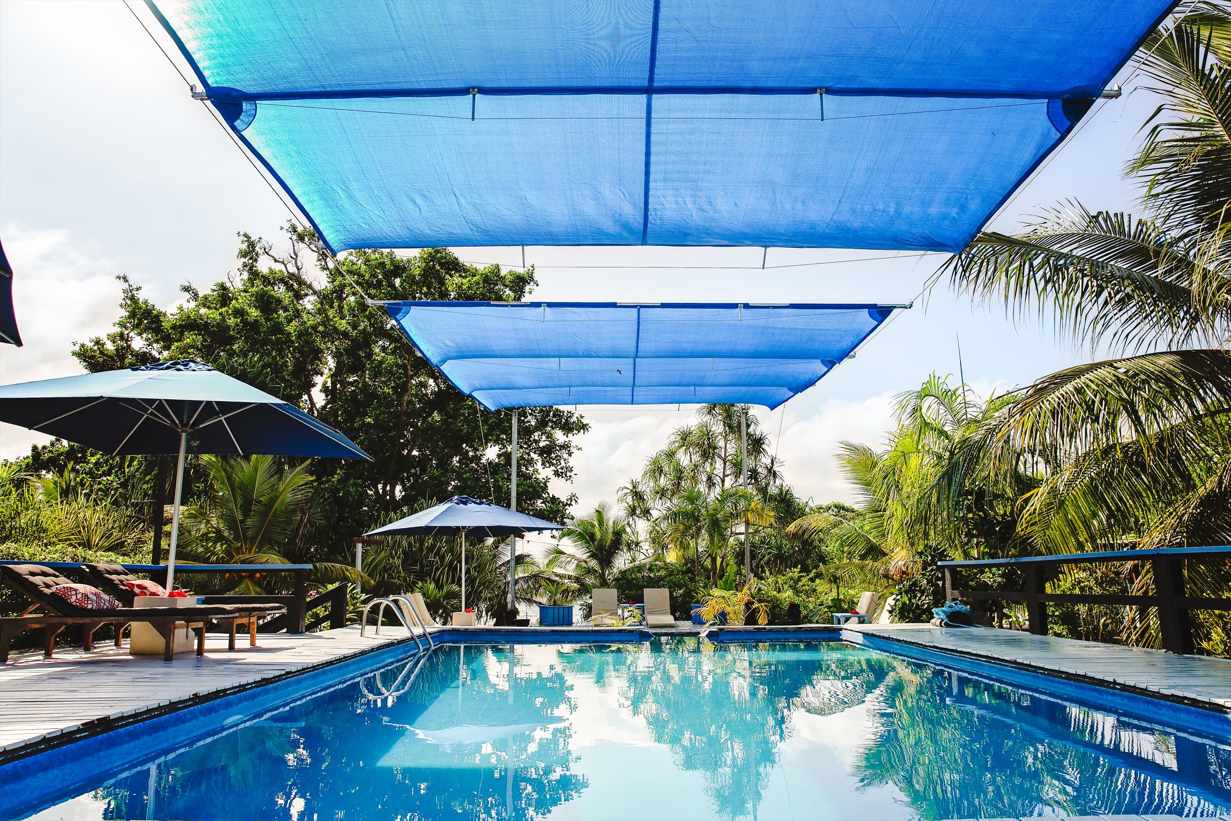 Swimming pool at Turtle Bay Lodge